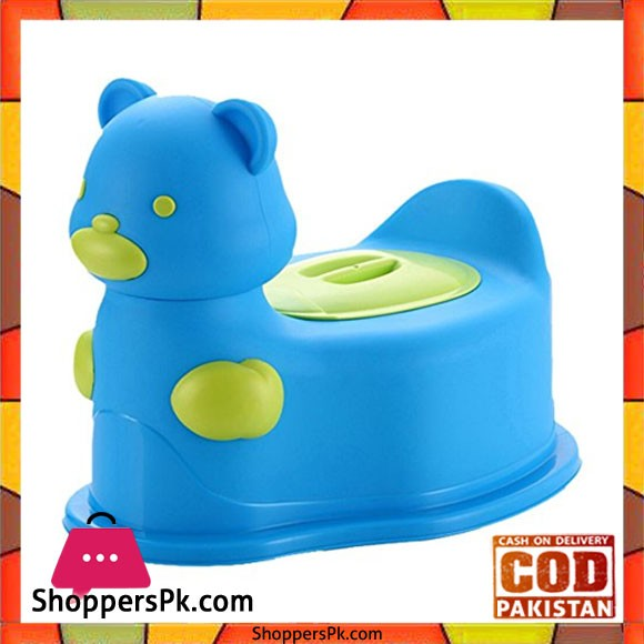 A+B High Quality Baby Closestool Potty Seat Bear with Wheel 104A