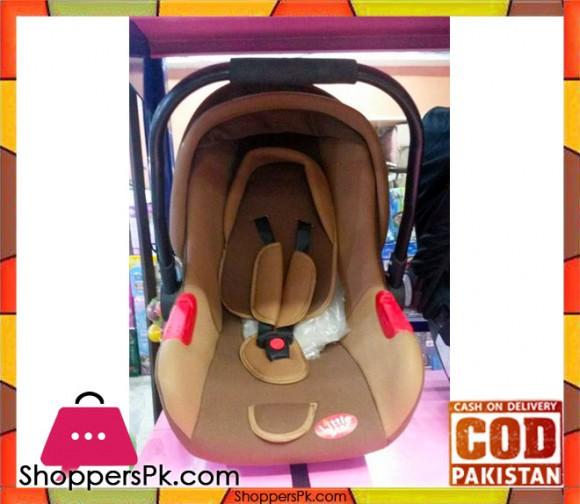 Car Seat Cum Baby Carry Cot Brown