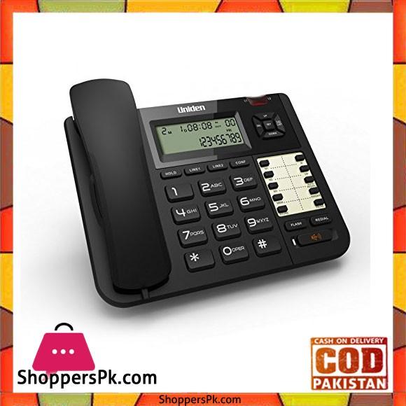 Double Line Caller ID Phone - 8502 - Black