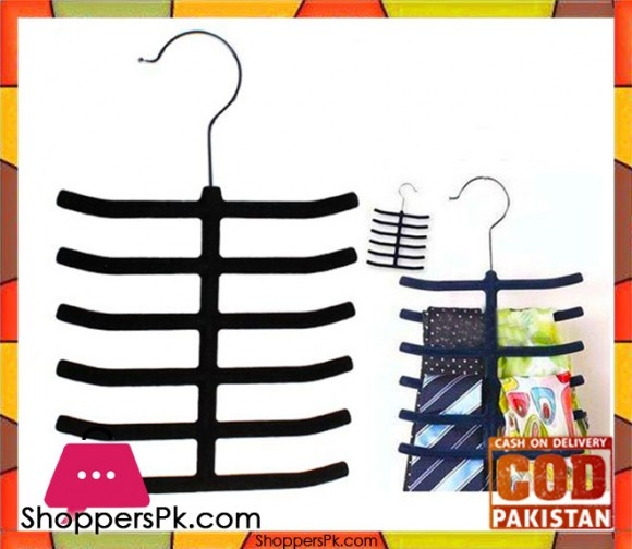 Imported Multipurpose Hanger For Closet Iron Steel Coated