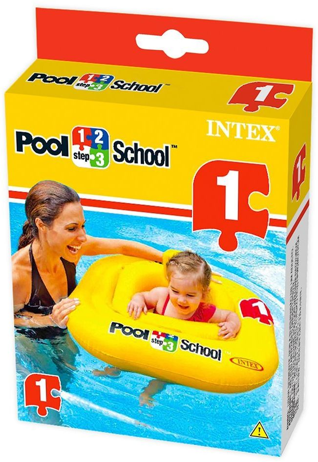 Buy Intex 1 2 3 Pool School Deluxe Baby Float Swimming Swim 56587 At Best Price In Pakistan