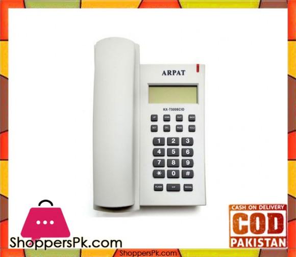 KX-T5006CID Corded Telephone Landline Phone - Multicolor