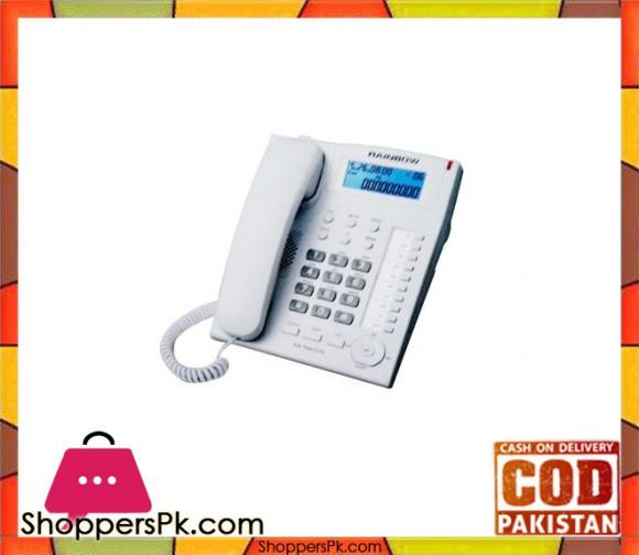KX-T881CID Landline Corded Telephone - White