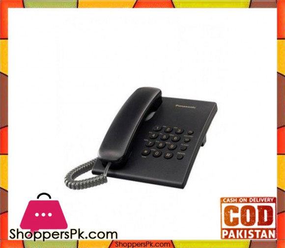KX-TS500 - Integrated Corded Phone System - Black