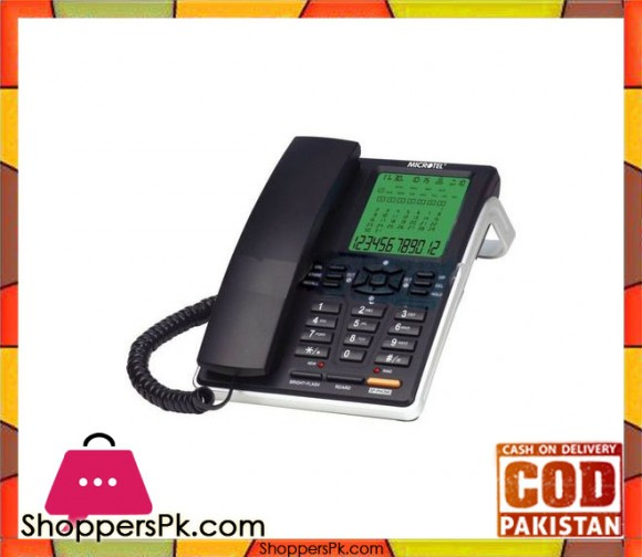 Caller ID Corded Telephone Microtel MCT-2008CID
