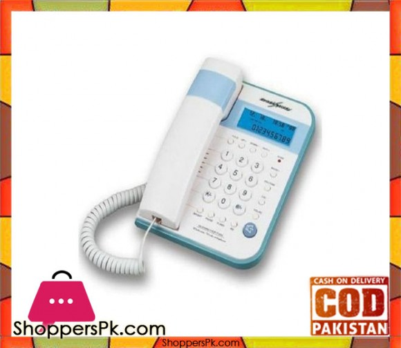 GAOXINQI - HCD399(116)P/TSDL - CID/Call Waiting Phone - White And Blue