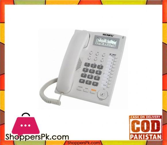 Corded Landline Telephone - Kx-tsc880cid - White