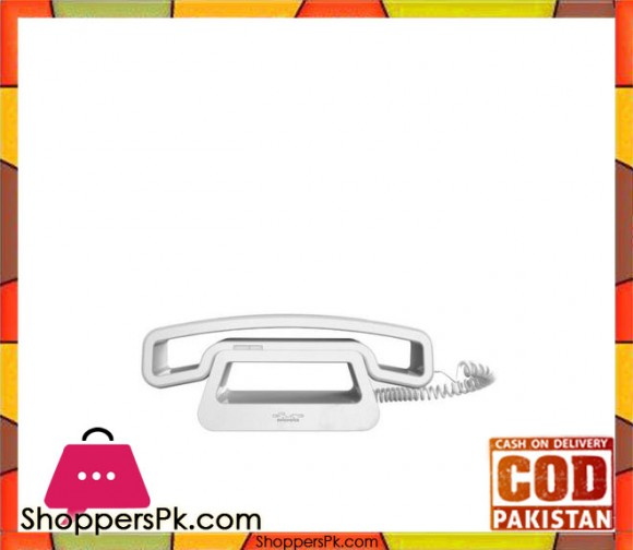 CH01- Corded Phone - White