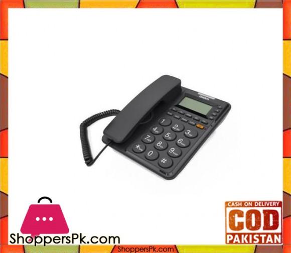 6408 - Caller ID Phone - Black