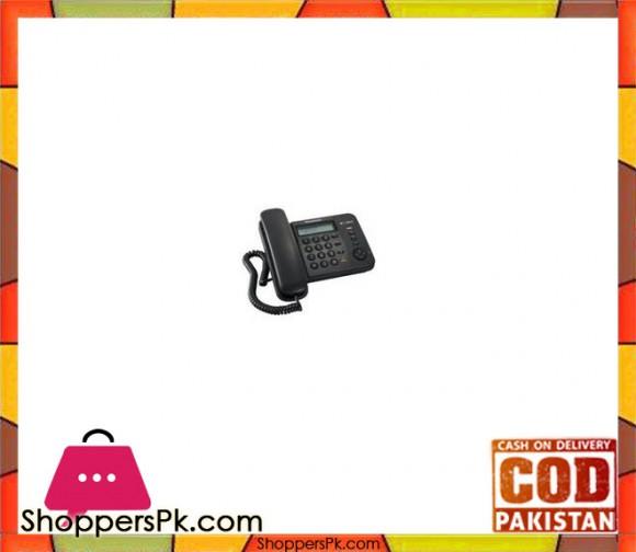 TS580 - Single Line KX Corded Telephone - Black