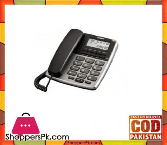 Corded Landline Phone - Silver