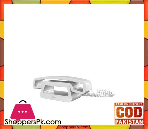 ePure CH01 Corded Mobile Handset - White