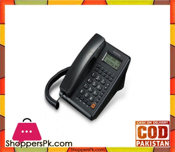 Corded Phone T37 CLI -Black