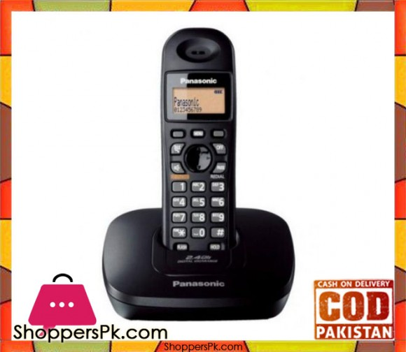 KX-TG3611 - Single Line Digital Cordless - Black