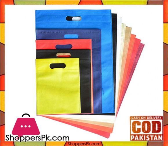 Non Woven Bags - 60 GSM - D Cut - 50 Pcs - 7x10 inches Wholesale Price - Rs: 10 Per Pcs
