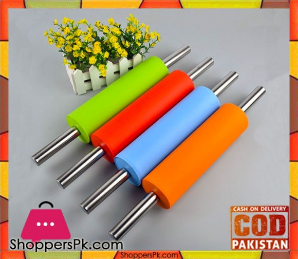 Stainless Steel Dough Roller (Bailon) One Pieces