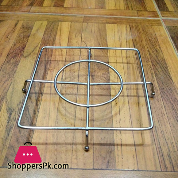 Stainless Steel Square Pan Stand Kettle Stand Tea Pot Stand Plant Pot Stand Cooker Stand