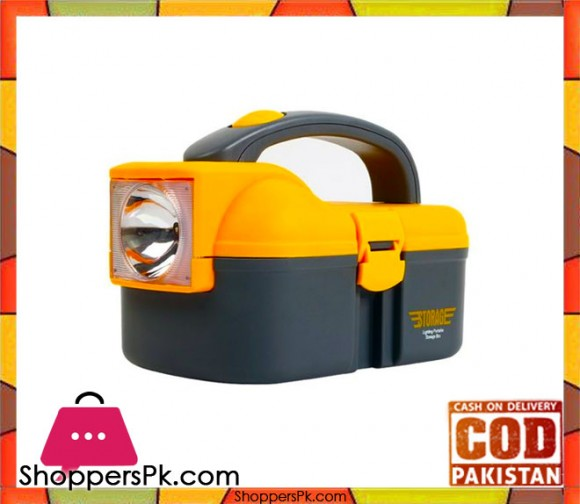 Storage Box With LED Torch