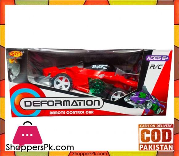 Demormation Remote Control Car For Kid