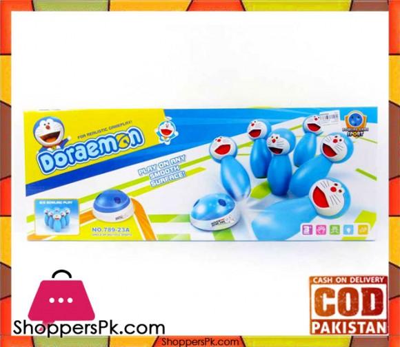 Doraemon Bowling Game For Kids