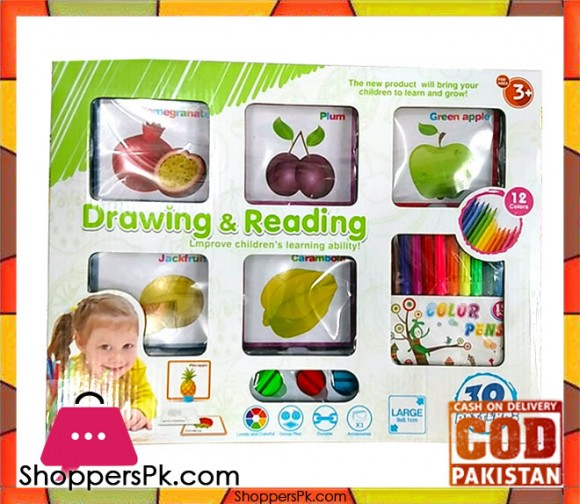 Drawing & Reading for Kid