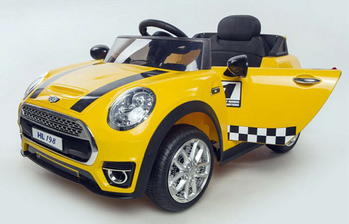 Buy Electric Cars Mini Cooper Ride On For Kids Hl 198 At
