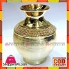 Fancy Golden Ceramic Flower Vase BQ4