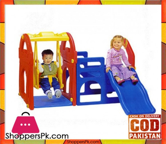 Haenim Playhouse Slide & Swing