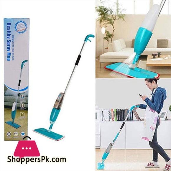 Healthy Spray Mop Microfiber Flat Cleaner