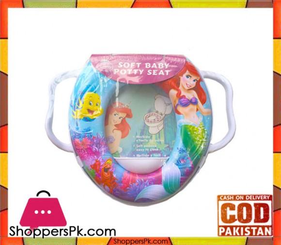 Mermaid Soft Baby Potty Seat