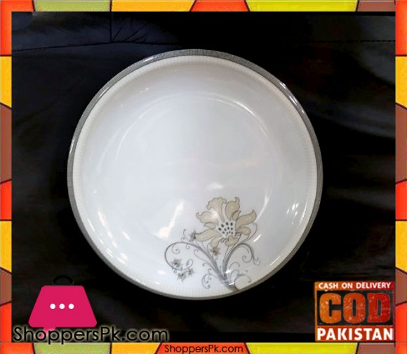 Melamine Rice Plate 12 Pieces KL8