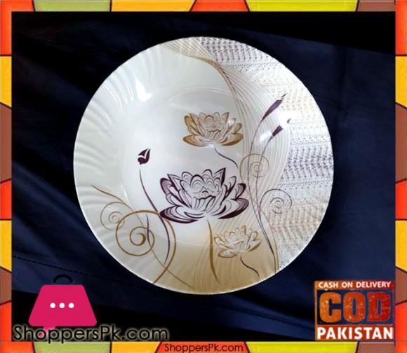 Melamine Rice Plate 12 Pieces Flower Print