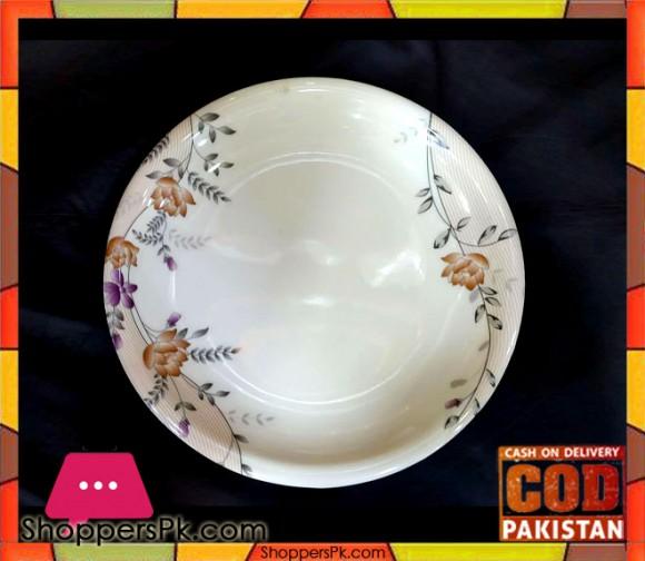 Melamine Rice Plate 12 Pieces KL1