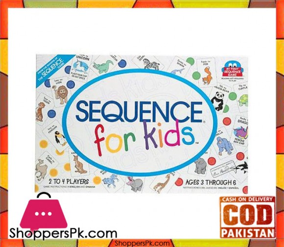 Sequence Board Game for Kids 8003
