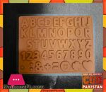 Silicone Chocolate Mold Capital Letters (012)