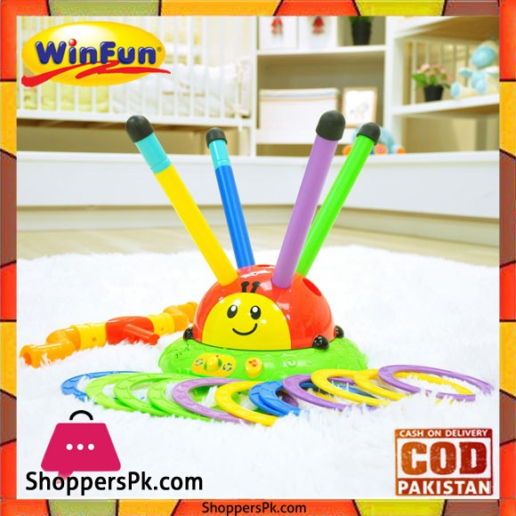 Winfun Skip N Toss Beetle, Multi Color