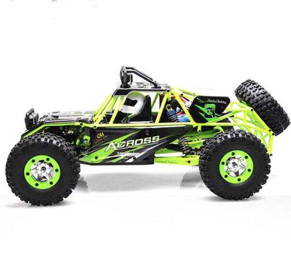 4WD Remote Control Cross-Country Rock Crawler With Big Wheels