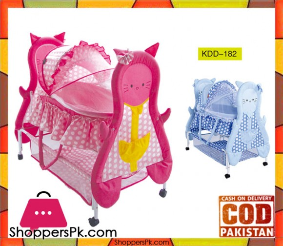Baby Rocking Cardle with Animal Design KDD-182