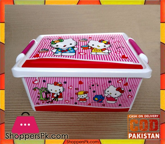 Hello Kitty Toy And Other Accessories Storage Box (Medium)