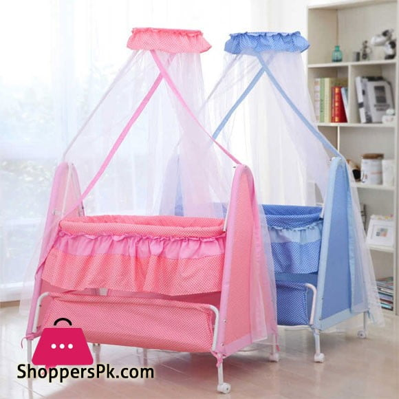 High Quality Newborn Baby Cradle Net Swing Bed Basket KDD-710