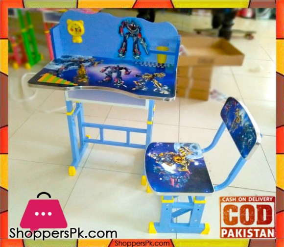 Kids Study Table And Chair Transformers