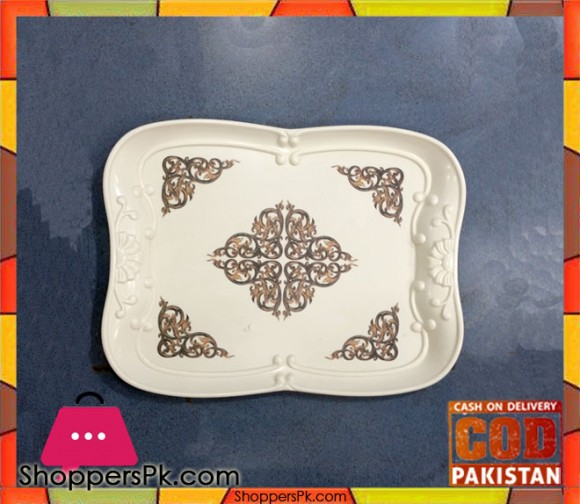 Melamine Serving Tray One Pieces GN8