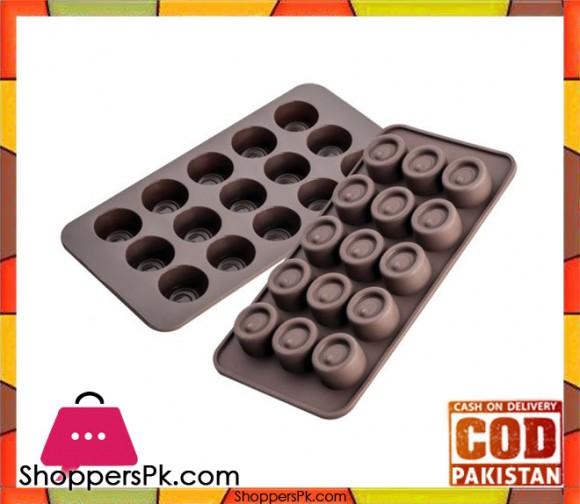 Pedrini Silicone Round Chocolate Mold