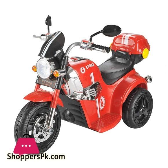 Ride on Three Wheel Battery Operated Bike For Kids (8 Strike)