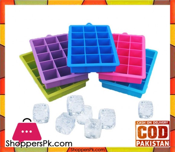 Silicone Multi Purpose Ice Cube Tray 1 pc