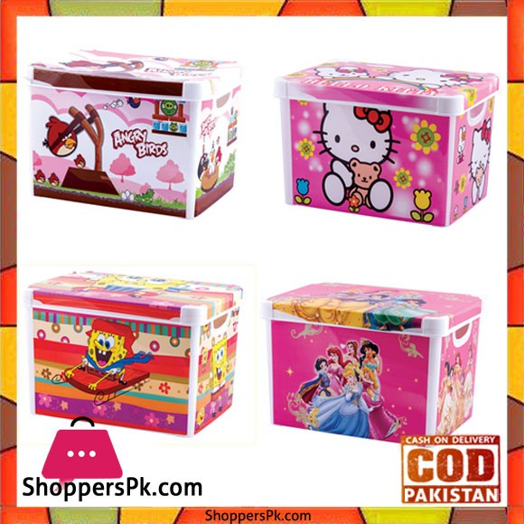 Toy And Other Accessories Storage Box Cartoon (Large)