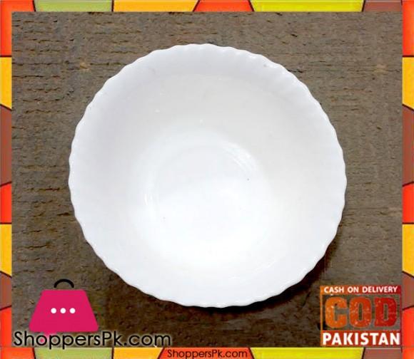 White Serving Bowl 1 Pieces
