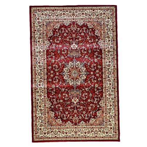 HS - Persian Rug - Red & Beige