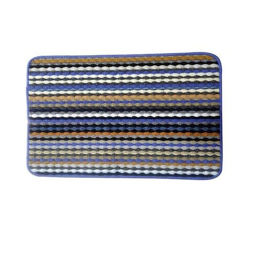 Rubber & Polyester Foot Mat – Multicolor