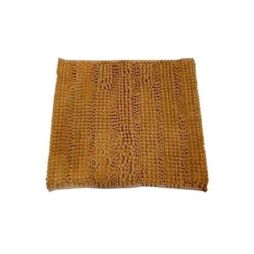 Soft Shaggy Non Slip Bath Mat - Golden
